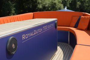 Elektrische aluminium boot